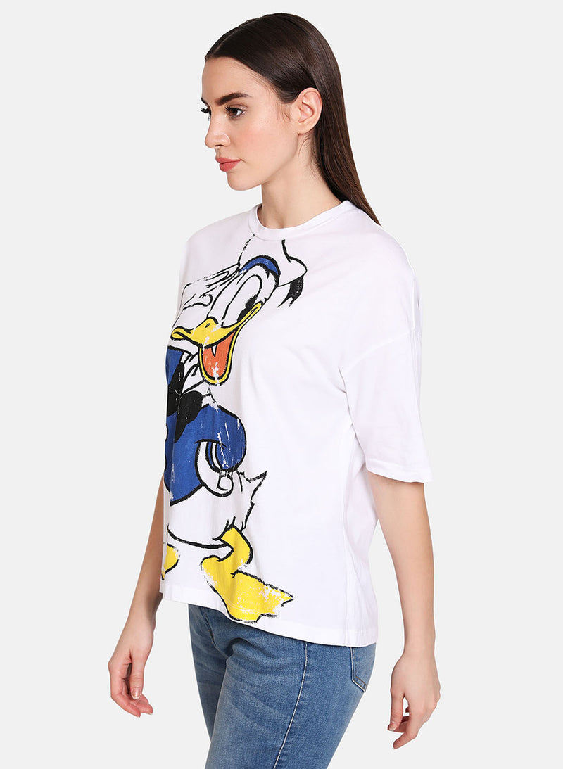 Donald Duck  © Disney Printed T-Shirt