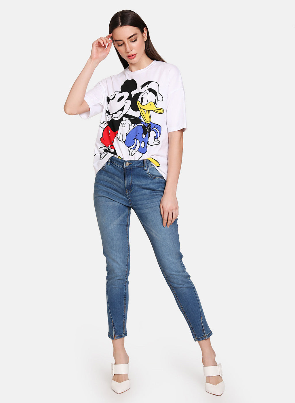 Mickey Mouse & Donald Duck  © Disney  Printed T-Shirt