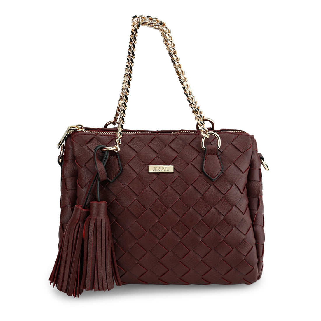 Weaved Design Handbag
