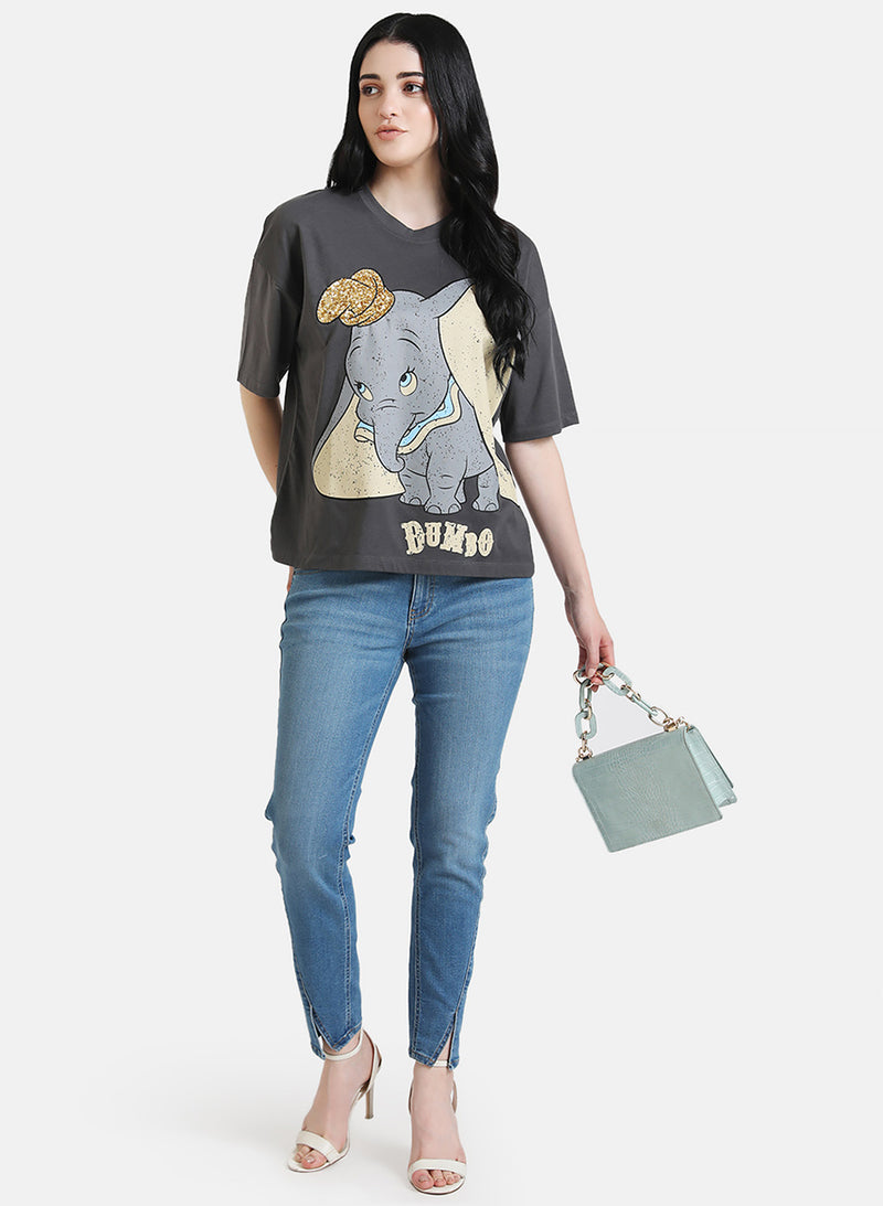 Dumbo © Disney Printed T-Shirt With Sequin