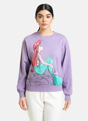 The Little Mermaid © Disney Printed  Sweatshirt