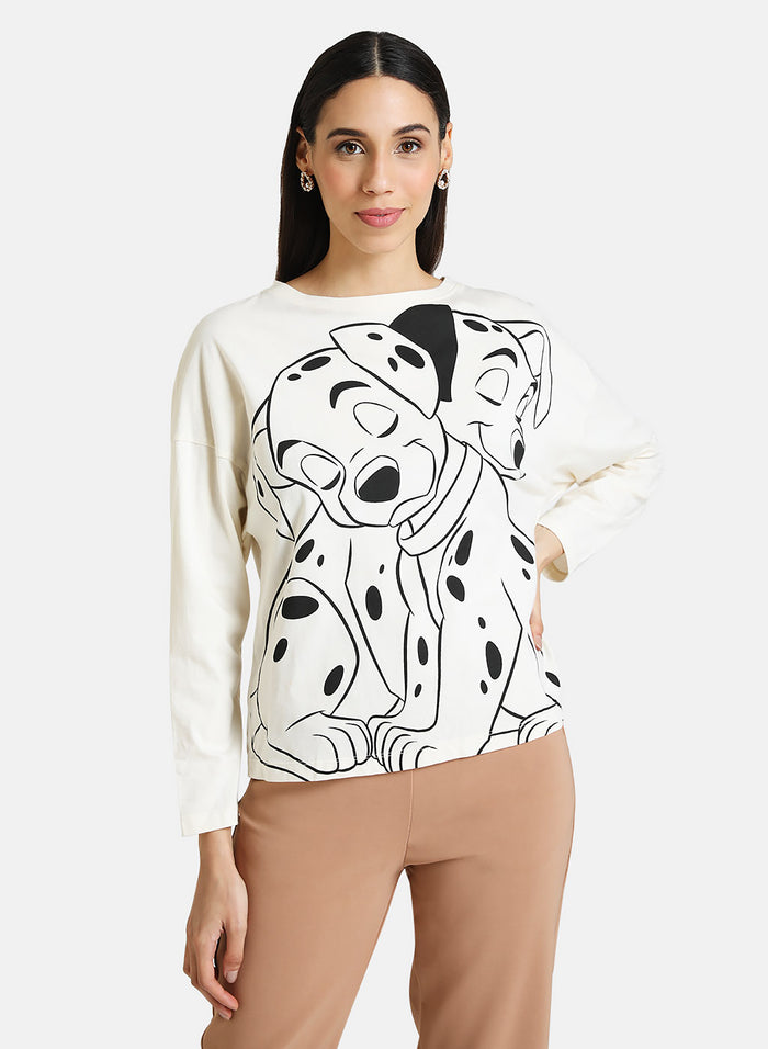 THE DALMATIONS © DISNEY FULL SLEEVE T-SHIRT