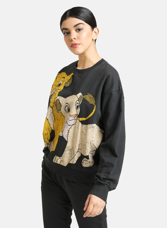 The Lion King © Disney Printed Sweatshirt