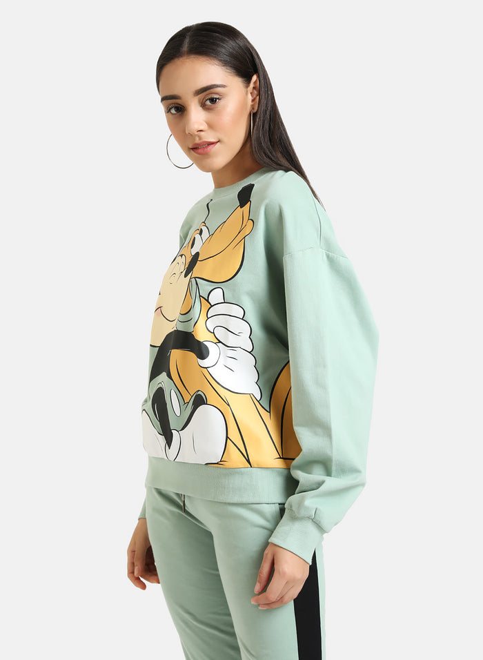 Mickey Mouse & Pluto © Disney Printed Sweatshirt