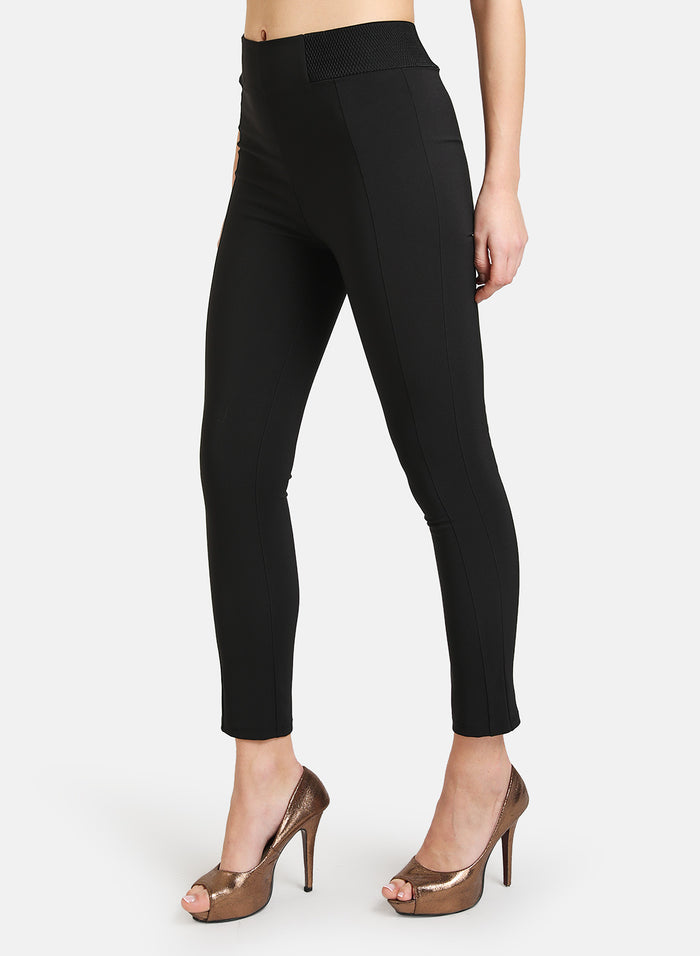 JEGGING WITH ELASTICATED WAIST DETAIL