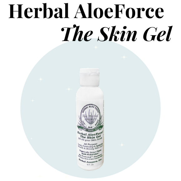 HERBAL ALOEFORCE THE SKIN GEL 4OZ. BOTTLE