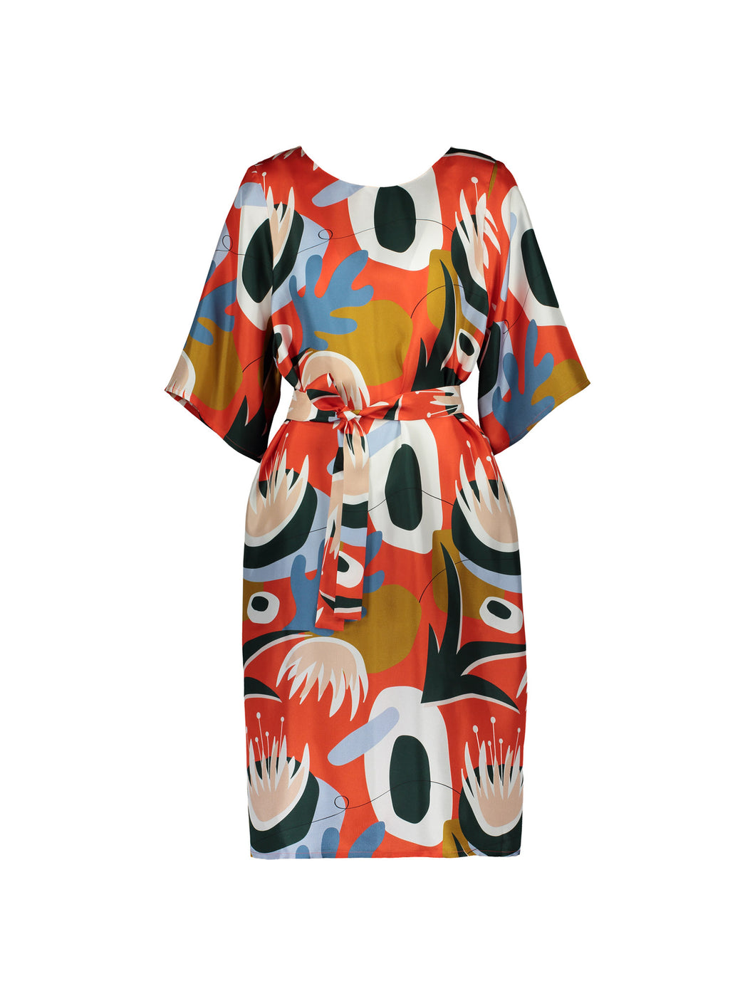 Delight Dress, Kyoto Red