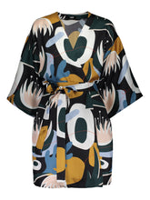 Load image into Gallery viewer, Imagination Kimono, Kyoto Black