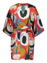 Load image into Gallery viewer, Imagination Kimono, Kyoto Red