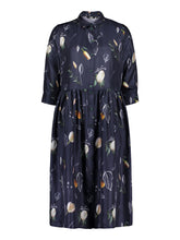 Load image into Gallery viewer, Sincere Dress, Summer Wind Dark Blue