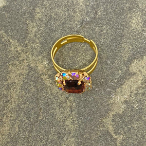 JOSIE topaz cocktail ring -