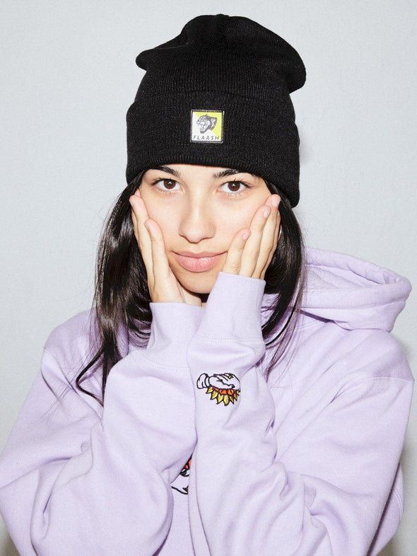 Panther Beanie - Black
