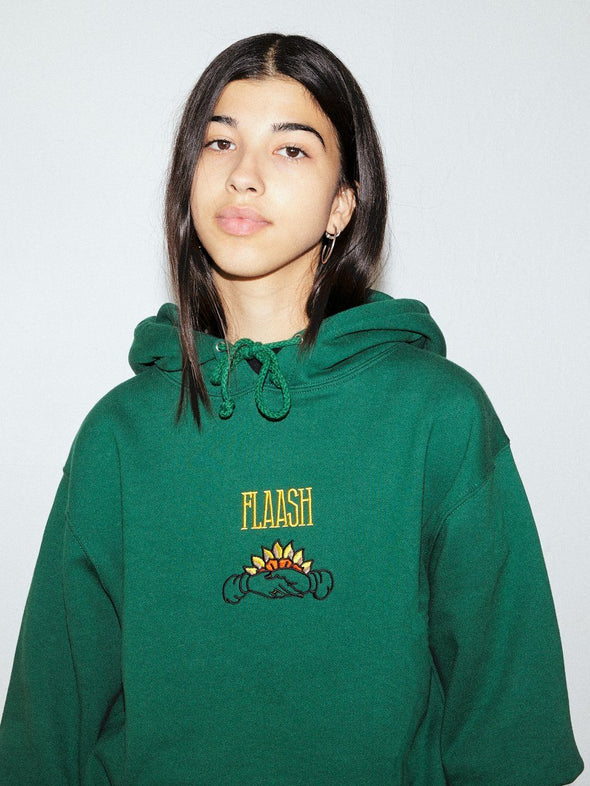 Neighbour Hoodie - Dark Green Flaash Apparel