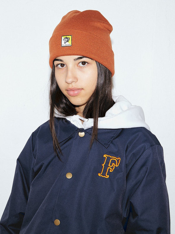 Panther Beanie - Orange