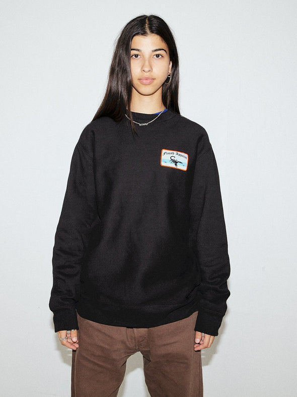 Deluxe Patched Sweatshirt - Black