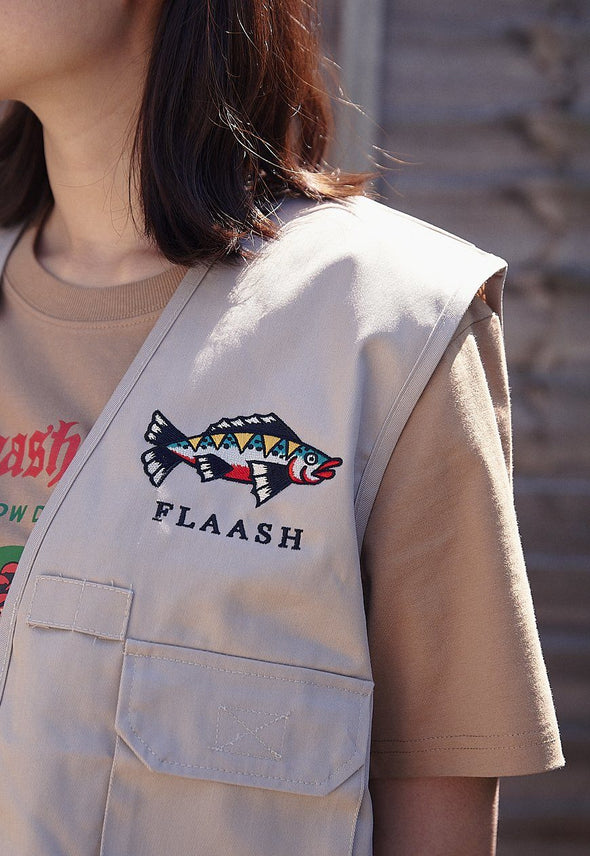 Fisherman Vest Flaash Apparel