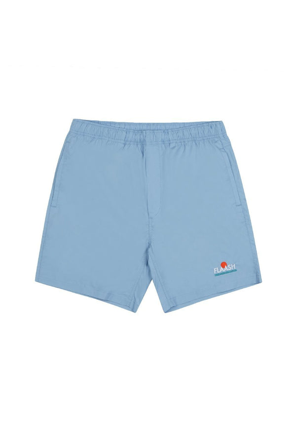 Breezy Beach Shorts Blue flaash apparel1
