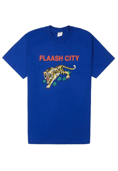Tigers Souvenir Tee - Blue Flaash Apparel
