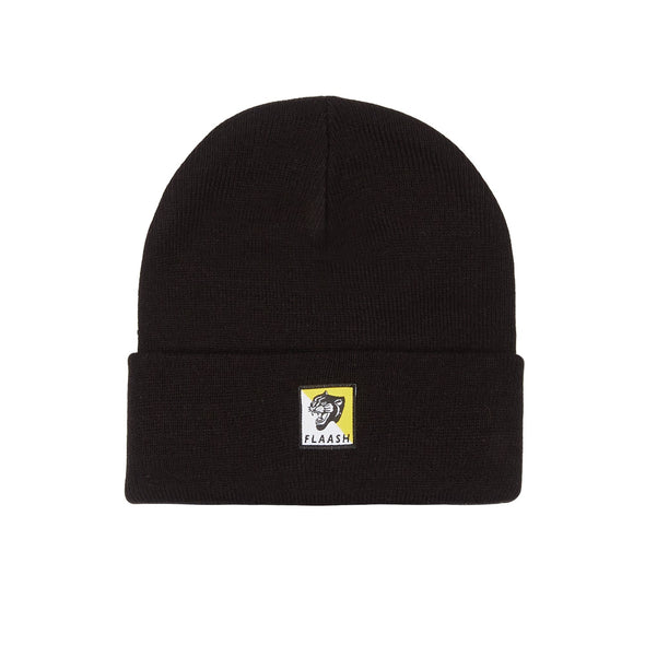 Panther Beanie - Black Flaash Apparel