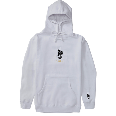 Shinko Rose Hoodie White flaash apparel1