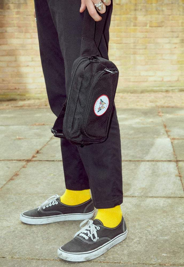 F's Crew Socks - Yellow flaash apparel1