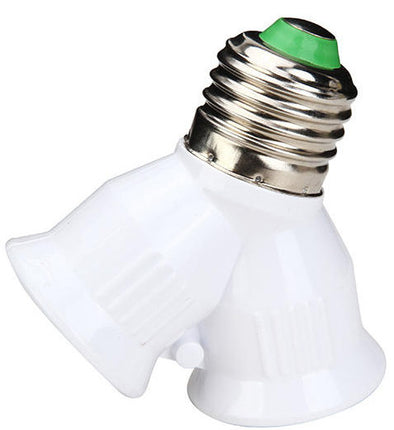 E27 Screw Head-(2-Light Bulb Adapter Splitter)-(BN-29764)