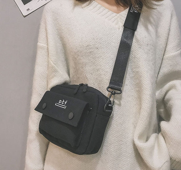 Fashion Canvas Shoulder Bags Casual Tote-(WHSK-006)