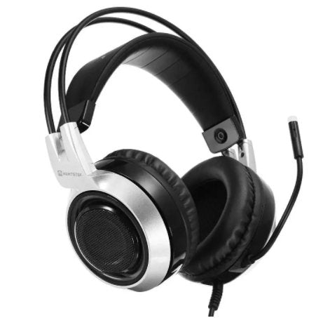MantisTek-GH2 Smart Vibration Stereo Noise Canceling Gaming Headphone with Microphone-(BN-002-1194355)