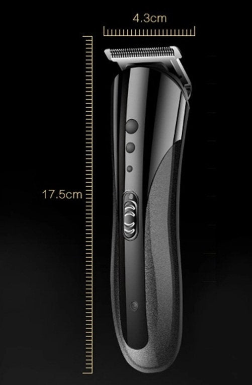 (BND-1315219)-KEMEI KM-1407-(3 IN 1 )-Hair Clipper-Shaver-Nose Hair Trimmer-Cordless Barber Tool