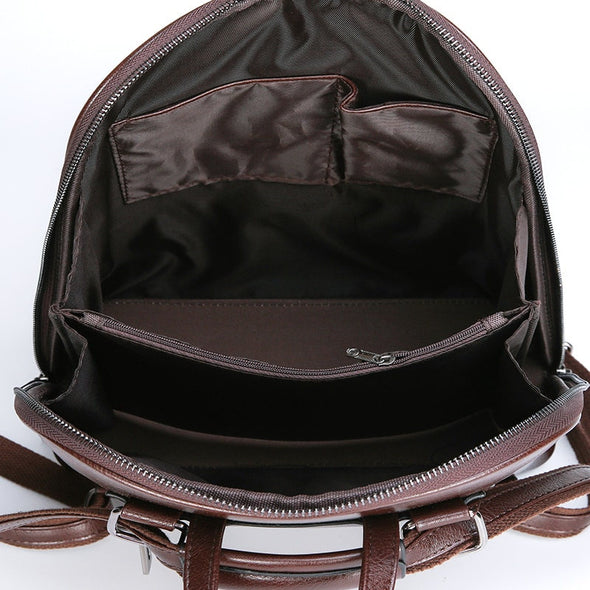 Women PU Leather Backpacks-(WBCN-008)