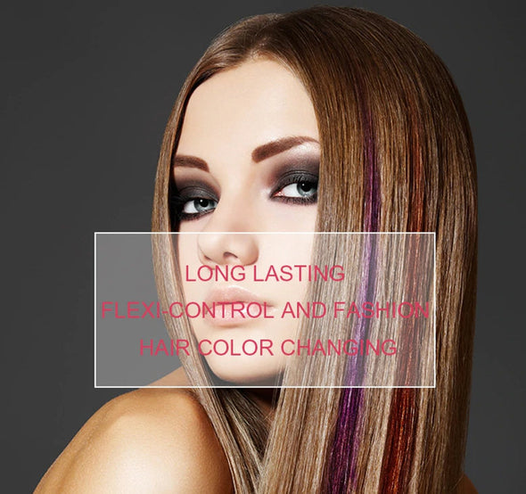 (BHKU-001)-Temporary hair color wax mud-Hair coloring Fashion Style Multi color