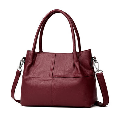 Soft PU Leather Handbag-Shoulder bag-(WHSK-002)