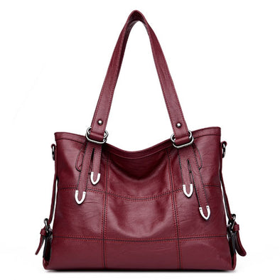 Women Soft PU Leather Handbags-Shoulder Bags-(WHSN-010)