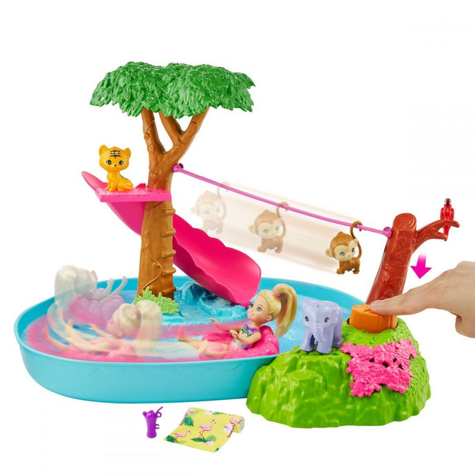 Barbie - Chelsea Jungle River Playset