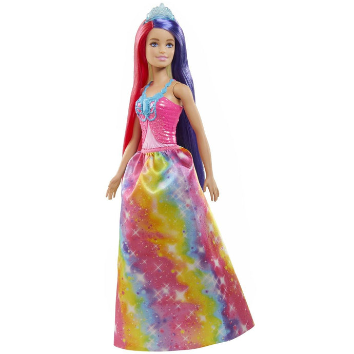 Barbie Dreamtopia Long Hair Fantasy dukke - Lang kjole