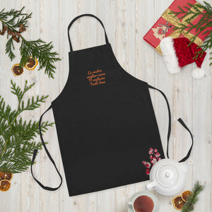 Embroidered Apron for our Best Cook