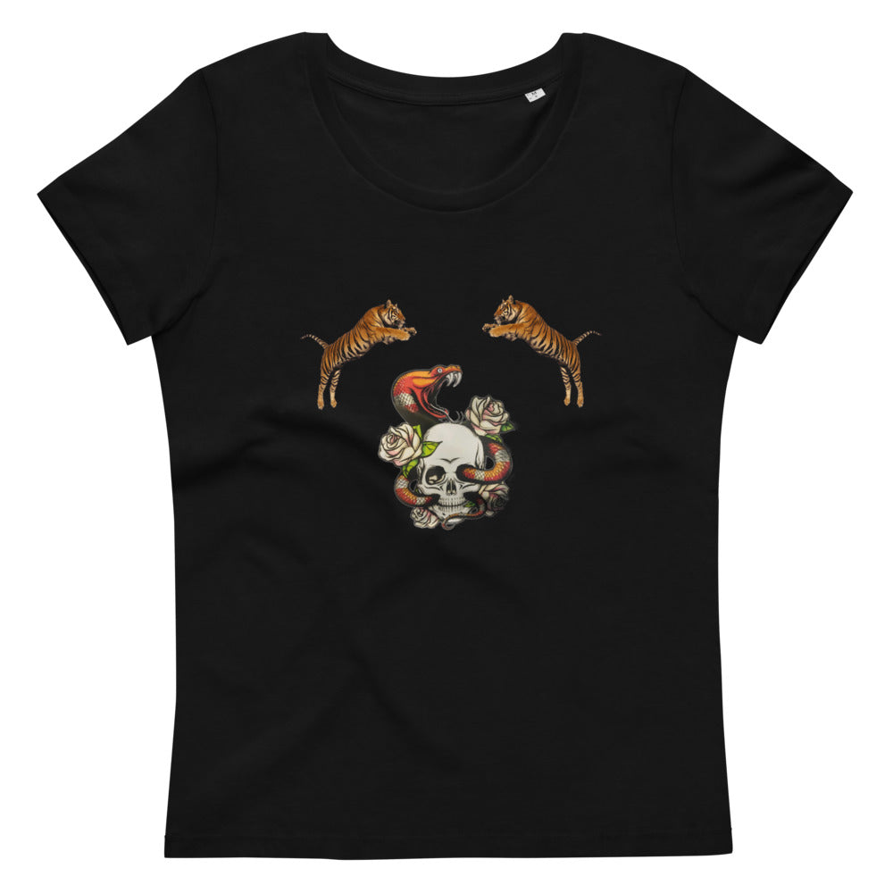 Women's fitted eco tee