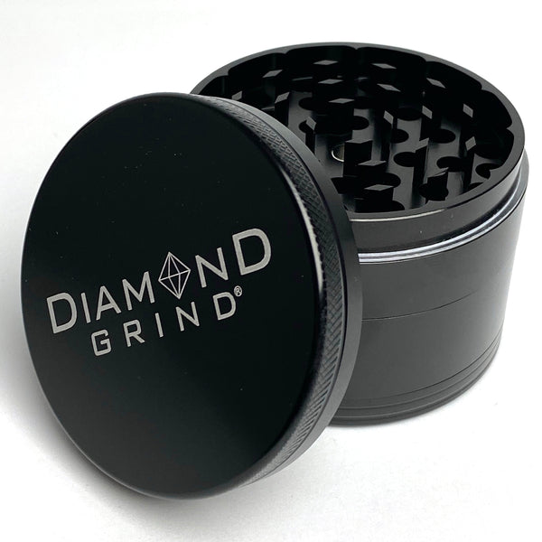 DIAMOND GRIND • LARGE • BLACK