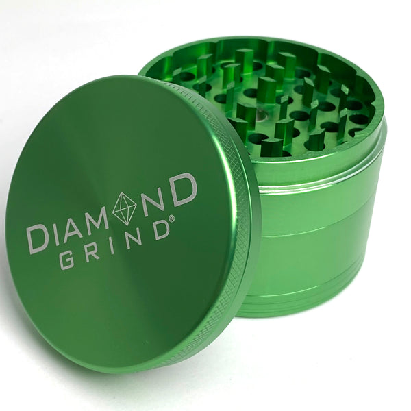 DIAMOND GRIND • LARGE • GREEN
