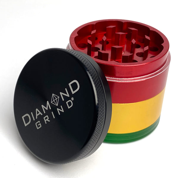 DIAMOND GRIND • MEDIUM • RASTA