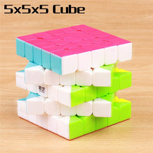 Carica l'immagine nel visualizzatore di Gallery, QIYI warrior 3x3x3 magic speed cube stickerless 4x4x4 professional puzzle cubo 5x5x5 smoothly cubes educational toys
