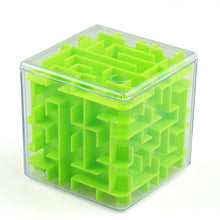 Carica l'immagine nel visualizzatore di Gallery, INBEAJY 3D Mini Speed Cube Maze Magic Game Puzzle Cube Magicos Anti-Stress Learning Toys Labyrinth Rolling Ball Toys