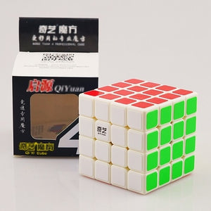 QIYI Professional Cube 3x3 4x4 5x5 Neo Cubo Puzzle Speed Mirror Magic Cube Metal Learning Education Children Grownups Cubo Toy