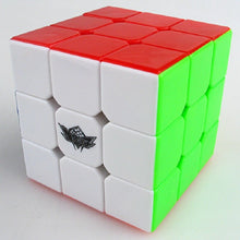 Carica l'immagine nel visualizzatore di Gallery, Cyclone Boys 3x3x3 Magic Cube Puzzle Competition Speed Puzzle neo Cube Toys For Children Kids magico No Sticker Rainbow