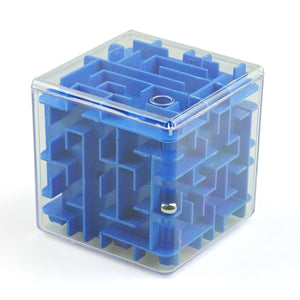 INBEAJY 3D Mini Speed Cube Maze Magic Game Puzzle Cube Magicos Anti-Stress Learning Toys Labyrinth Rolling Ball Toys