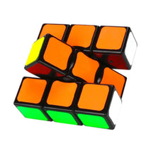 Carica l'immagine nel visualizzatore di Gallery, 133 Classic Magic Toy Cube Black Standard Single-Level Entry 1X3X3 Speed Cube Colorful Children's Intellectual Puzzle