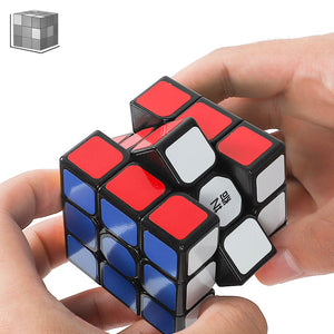 Qiyi 3*3*3 Professional Magic Cubes Speed Puzzles Magic Cubes Three Layers Cube Puzzle Toys For Children Toys For Adults
