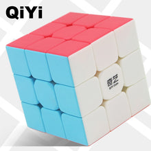 Carica l'immagine nel visualizzatore di Gallery, QIYI Warrior W Speed Cube 3x3x3 Magic Cube 5.6CM Professional Puzzle Rotating Smooth Cubos Magicos Toys for Children Gifts MF3