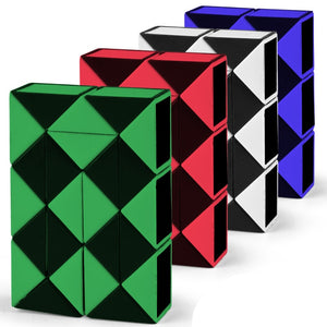 Cube Puzzle Variety Of Children'S Puzzle 24-Section Folding Cube Toys Magnetic Balls New Toys Desk Kids