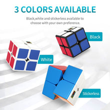 Carica l'immagine nel visualizzatore di Gallery, MOYU MeiLong Mini Speed Magic Cube 2x2x2 Profession Puzzle Cubes Kinds of Cubos Education Speed Children's For Game Toys Gift